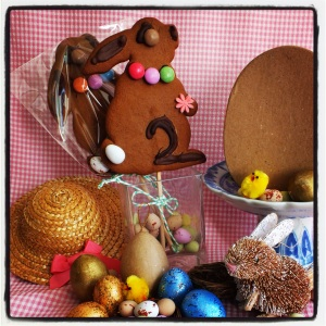 Easter has arrived at CocoaNoko's with Bertie the Bunny hoppity skippiting all the way to Plum's Kitchen in Macclesfield!!