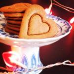 Love is all around & made of gingerbread...