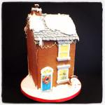 And The Best till last, the Amazing Gingerbread House I made for Plums Kitchen!