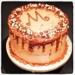 Rich Chocolate & Coffee Layer Cake!  #MadeInMacclesfield