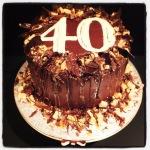 Decadent Chocolate Fudge Cake!  #MadeInMacclesfield